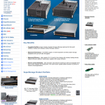 화면-Super Micro Computer, Inc. | Products | Supermicro Storage Chassis Solutions - Chrome